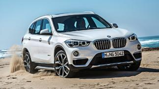 SUV menos consumen 2017 BMW X1 sDrive16d