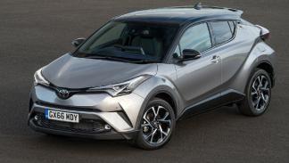SUV menos consumen 2017 Toyota C-HR