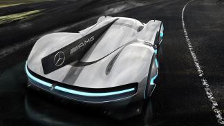 nuevo superdeportivo de Mercedes trasera