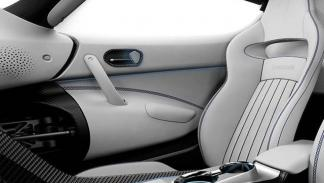 Koenigsegg Regera Prince asientos