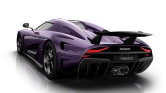 Koenigsegg Regera Prince trasera