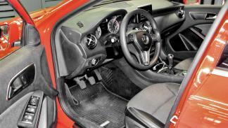 Test 200.000 km  Mercedes Clase A interior