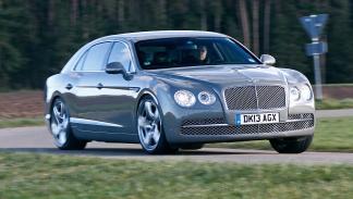 37: Bentley Flying Spur Mulliner. 0-200 km/h: 14,0 s.