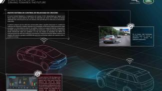 jaguar land rover flota semiautonoma reino unido  roadwork assist