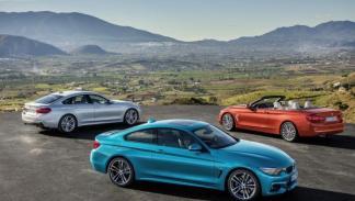 El nuevo BMW Serie 4, en el Salón de Ginebra 2017.