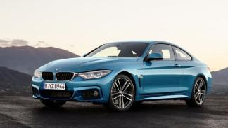 El nuevo BMW 4 Series M Sport Coupe, en el Salón de Ginebra 2017.