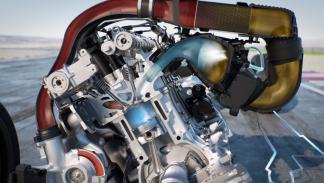 refrigerar el motor del BMW M4 GTS