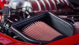 Entrada de aire del Dodge Challenger SRT Demon