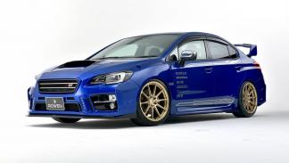 Subaru WRX STI Rowen International delantera
