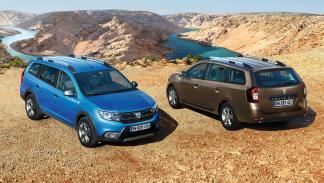 Dacia Logan MCV Stepway y Dacia Logan MCV