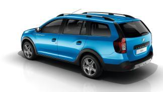 Dacia Logan MCV Stepway trasera