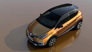 Renault Captur 2017 vista superior