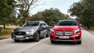 Comparativa: Mercedes GLA/Infiniti QX30