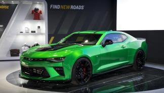 Chevrolet Camaro Track Concept frontal