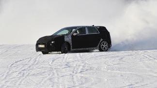 Hyundai i30 N  prueba invernal derrape