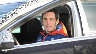 Hyundai i30 N  prueba invernal  Thierry Neuville