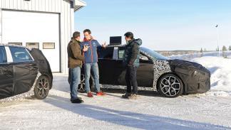 Hyundai i30 N  prueba invernal equipo