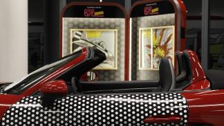 Pop art Roy Lichtenstein Porsche boxster