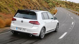 Volkswagen Golf GTI Clubsport dinamica trasera