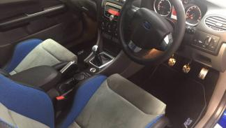 Ford Focus RS 2009 asientos