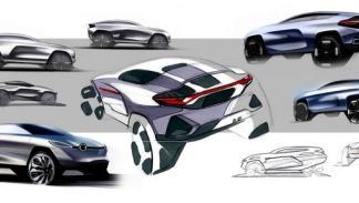 Bocetos Alpine SUV