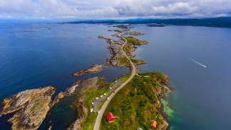 La carretera del Atlántico (Noruega)