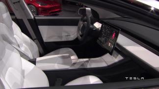 Interior Tesla Model 3