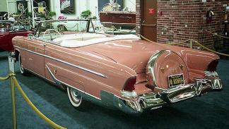 El Lincoln Capri Convertible 1955 de Marilyn