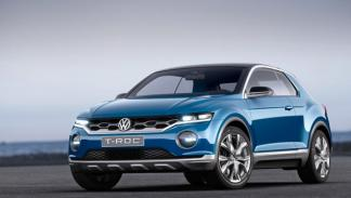 Volkswagen T-ROC tres cuartos
