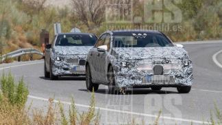 Mercedes Clase A 2018 fotos espía delantera