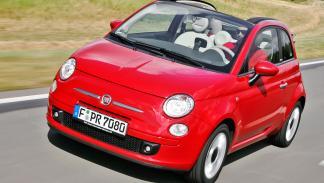 Fiat 500 C. Suelen dar problemas los muelles y amortiguadores. Los faros suelen