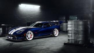 Dodge Viper ACR by ADV.1 Wheels