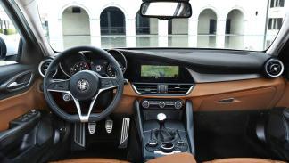 Interior del Alfa Romeo Giulia