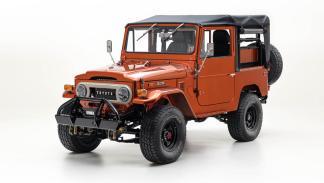 Toyota Land Cruiser FJ40 FJ Company frontal