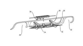 Porsche patente difusor activo