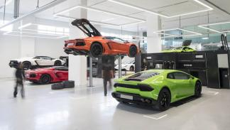 Concesionario Lamborghini Dubai taller