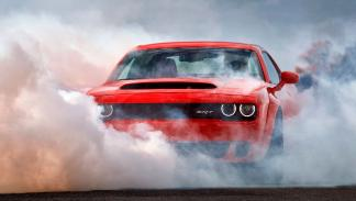 Dodge Challenger SRT Demon muscle car