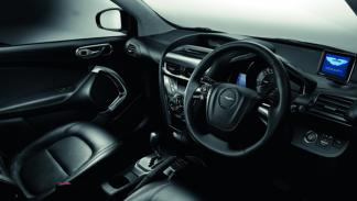 Aston Martin Cygnet Black interior