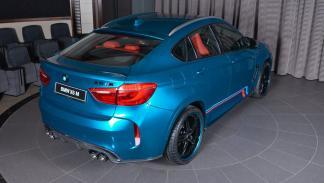 BMW X6 M personalizado trasera
