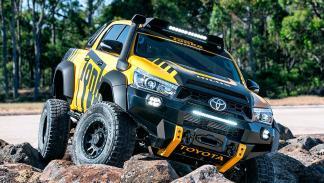 El Hilux, por su resistencia, es el coche de trabajo más vendido de Australia.