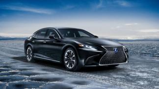 El Lexus LS 500h 2017 llega con 358 CV híbridos
