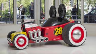 coche Mickey Mouse estática