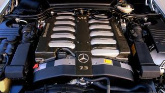 Mercedes SL 73 AMG motor
