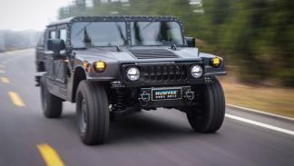 nuevo Hummer H1 frontal