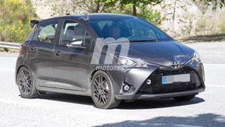 fotos espía Toyota Yaris GRMN delantera