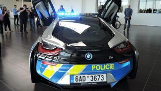 BMW i8 Policía República Checa