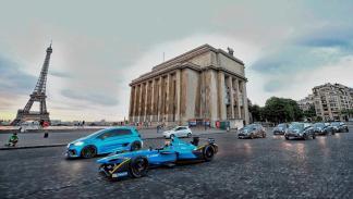 Renault Zoe e-Sport y Renault eDams R.S. 16 en París