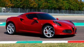 Alfa Romeo 4C lateral