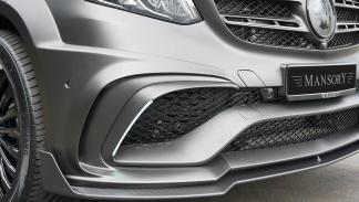 Detalle del paragolpes delantero del Mercedes-Benz AMG GLS 63 Mansory