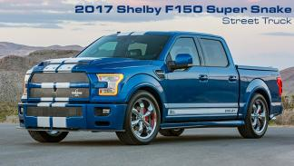 Shelby F-150 Super Snake pick-up deportivo potente